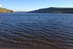 Lac Beau, bassin versant de la rivière Saint-François, à Rivière-Bleue, MRC de Témiscouata. Crédit photo: OBV du fleuve Saint-Jean 2016.