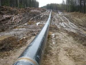 Exemple de pipeline en construction