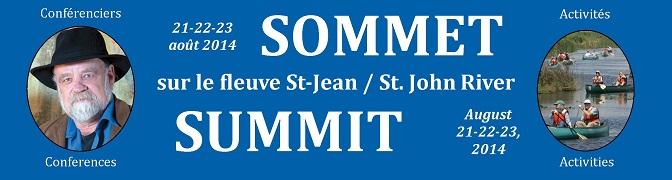 Sommet sur le fleuve Saint-Jean – St. John River Summit