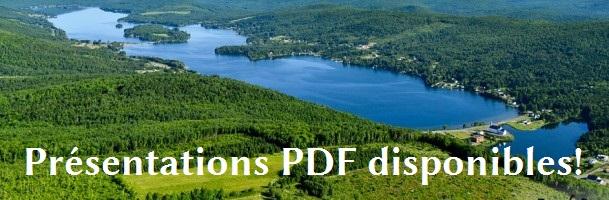 Les présentations du Forum sur les lacs du Haut-Saint-Jean sont maintenant disponibles!
