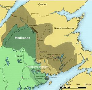 Territoire ancestral Malécite
