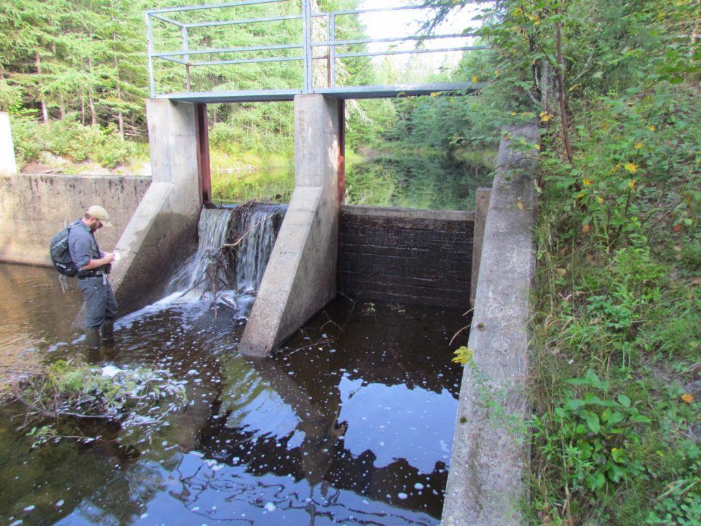 barrage du marais Léverrier
